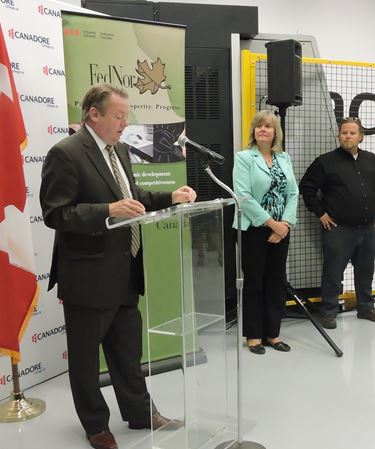 MP Jay Aspin announces ICAMP expansion funding