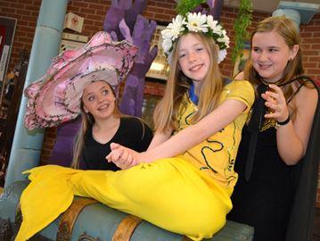 Cookstown students performing the Little Mermaid