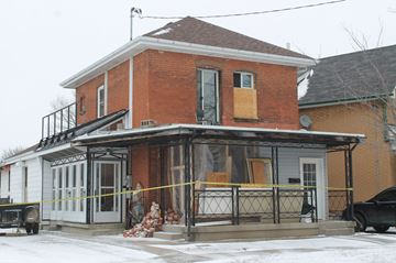 HOUSE FIRE BRIGHTON STREET BRANTFORD