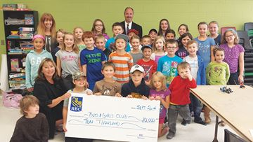 RBC provides support for Midland after-school program