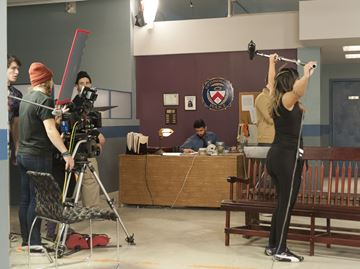 Sheridan Oakville film students bring activity back to old post office building