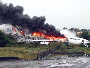 50th Anniversary Air France Plane Skids Off Pearson Runway