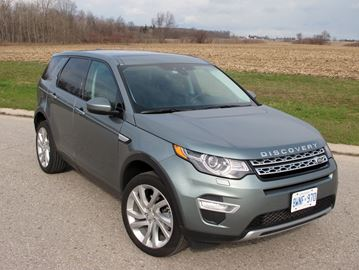 Road test: 2015 Land Rover Discovery
