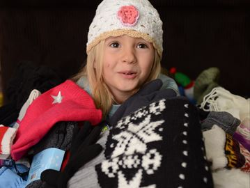 Burlington youngster gearing up for annual winter clothing drive