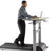 Treadmill desks keep employees fit