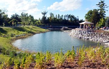 Rumble Pond project earns award