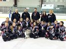 Peewee Rapids win gold