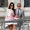 George Clooney to throw wedding party -Image1