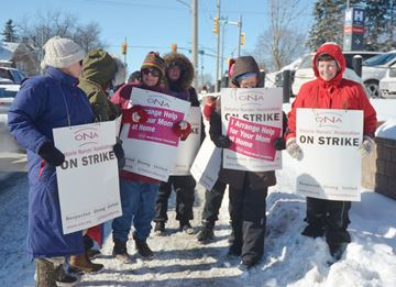 Access Centre health professionals on strike