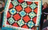 Rose Paterson's colourful quilt