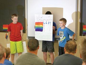 LGBT presentation