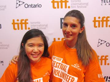 TIFF volunteers love excitement