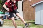 Skateboarding at Acton's Leathertown Festival