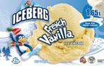 Iceberg brand ice cream