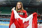 Penny Oleksiak wins silver