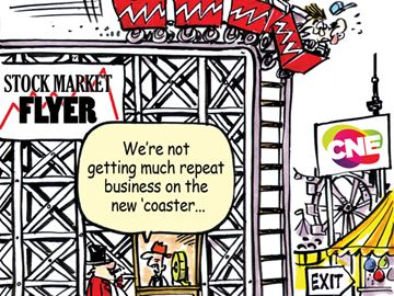 Today's Cartoon: Stock Market Flyer