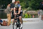 HUNDREDS CHEER IRON ATHLETES ON BIKE ROUTE IN DWIGHT