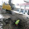 Construction war zone