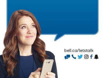 Clara Hughes, Bell Let's Talk national spokesperson