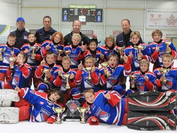 Atom AA Rangers win Vaughan early bird title in double OT