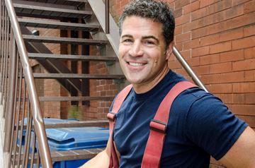London firefighter Michael Murray Scratch