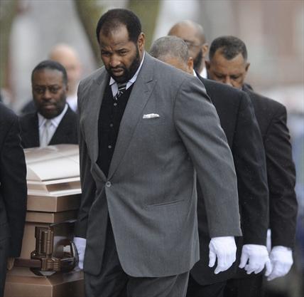 Duerson Funeral