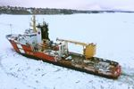 Icebreaker expected this week in Midland Harbour