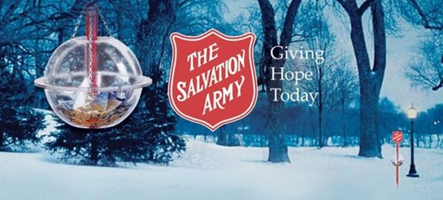 The Salvation Army Christmas Campaign On November 23,2013