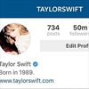 Taylor Swift celebrates 50m Instagram followers-Image1