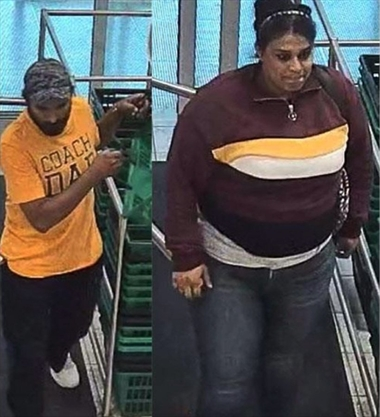 Police looking for 'COACH DAD' and his accomplice following Burlington vodka theft