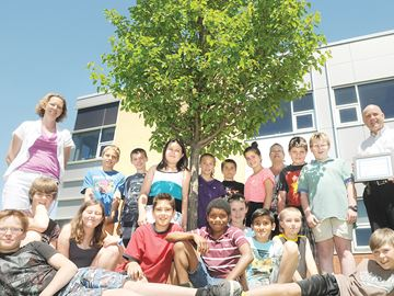Port Hope Students Receive Environment Award