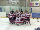 Muskoka Rock atoms celebrate B division win