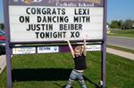 Local dancer shares stage with Justin Bieber
