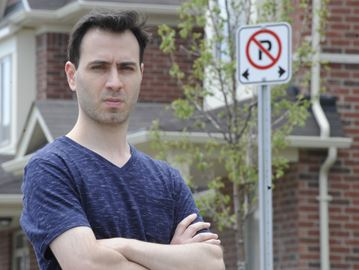 """Town """"unreasonable"""" in parking ticket incident, says homeowner"""
