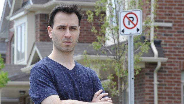 "Town ""unreasonable"" in parking ticket incident, says homeowner"