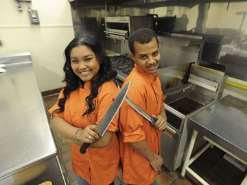 Chopped Canada teen competitors