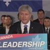 Harper says Tories to stick to economic plan amid volatility