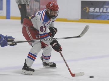 Worrad's hat trick leads Oakville Blades to overtime win