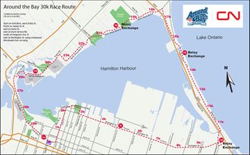 Road closures coming for Around the Bay race March 26
