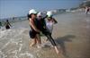 Triathletes shrug off water warnings, swim in Rio-Image1