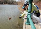 Blue Dot Garbage Clean-Up in Richmond Hill