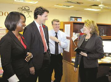Trudeau Visit