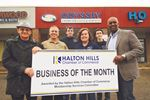 Halton Hills Chamber of Commerce award for September