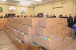 Salvation Army Food Hamper Distribution