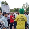 Taxi protest at East York Civic Centre