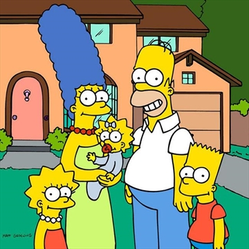 The Simpsons goes live