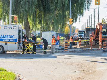 Constructionw worker injured Oct. 19