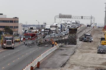 Highway 410 jammed