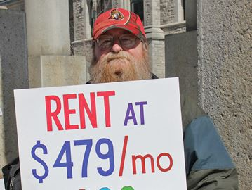 ACORN demands housing allowance increase for Ontario's disabled
