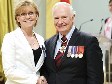 Governor General of Canada, award